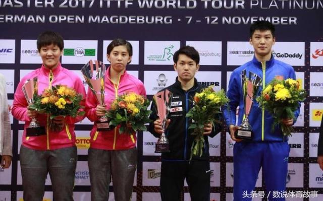 蔡振华高瞻远瞩!国乒横扫日本包揽双冠,日本37人参赛却成大笑话