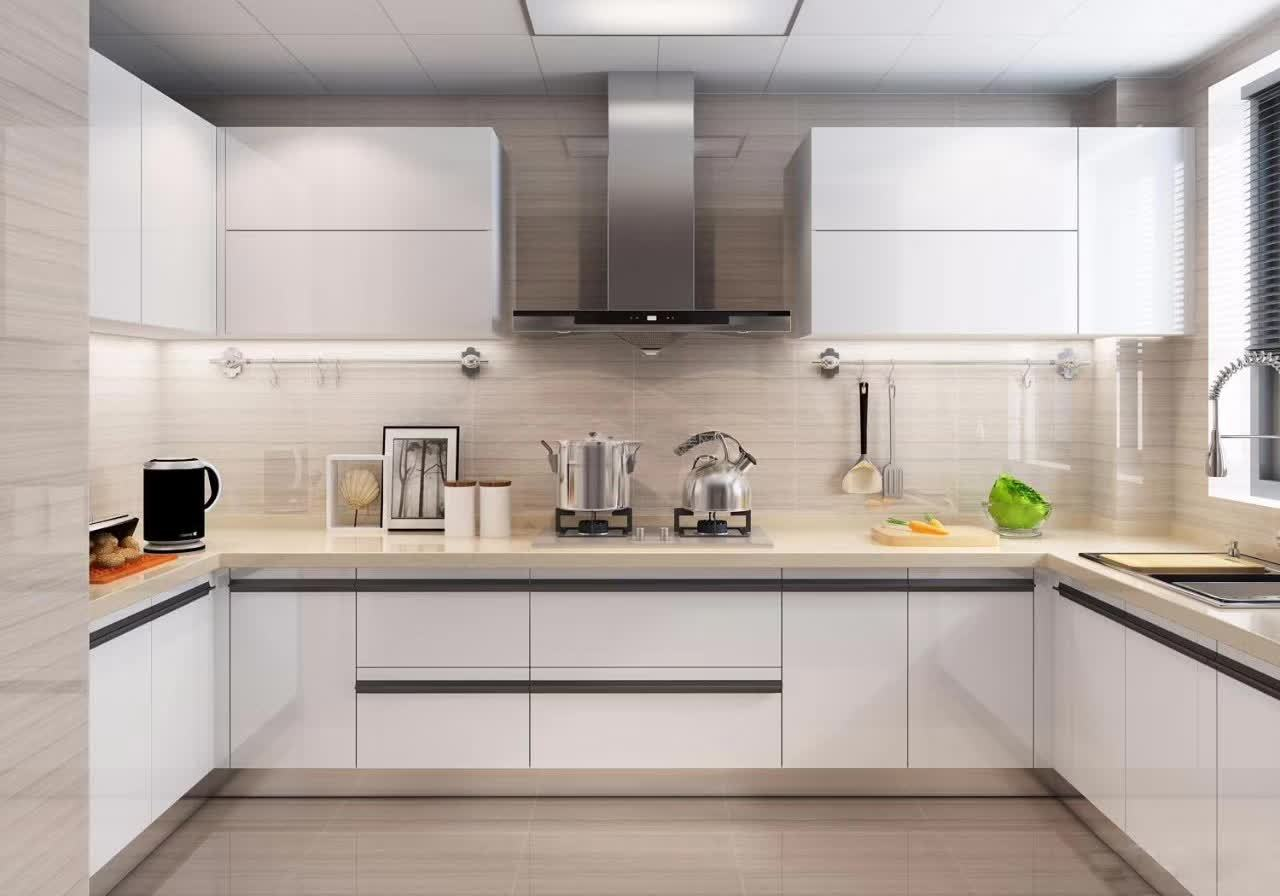 厨房灶台门效果图片