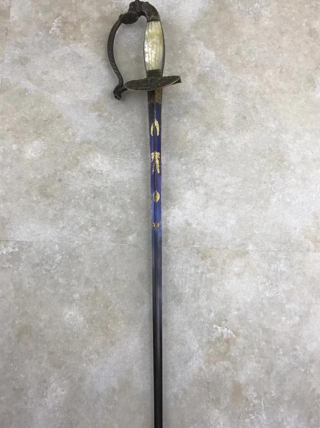 意大利决斗细剑