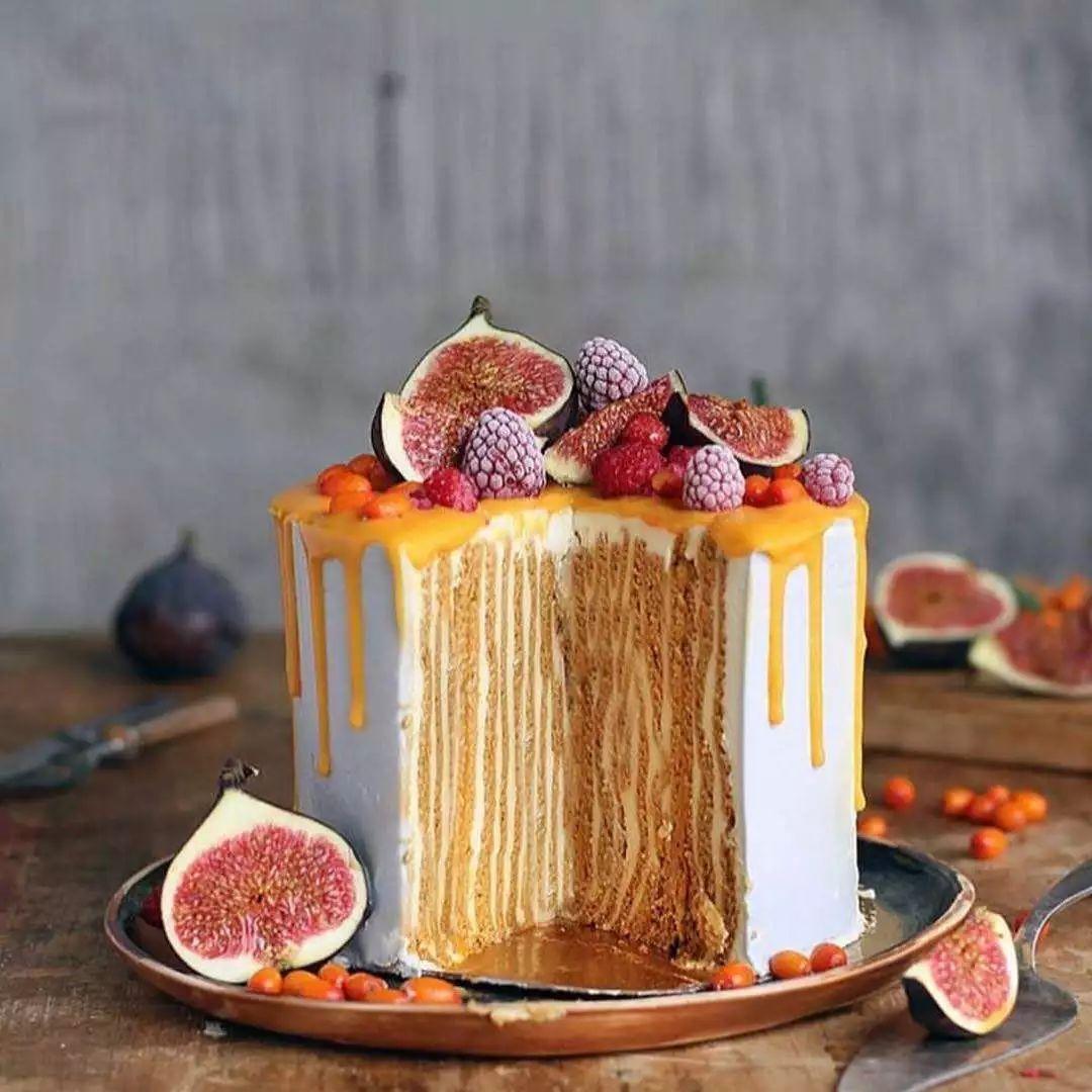 2017经典欧式私房蛋糕~精美蛋糕图~冬季cake行业主流