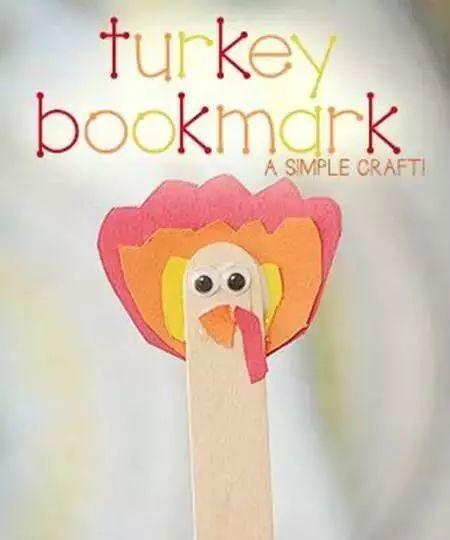 100多种感恩节主题手工制作教程,收藏好,跟孩子过个有