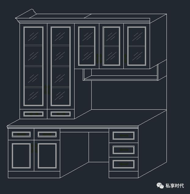 优囹�dy�m���z�9�k_生活 正文  书柜,衣柜,橱柜cad素材 大小  120m  注:截图至少一部分