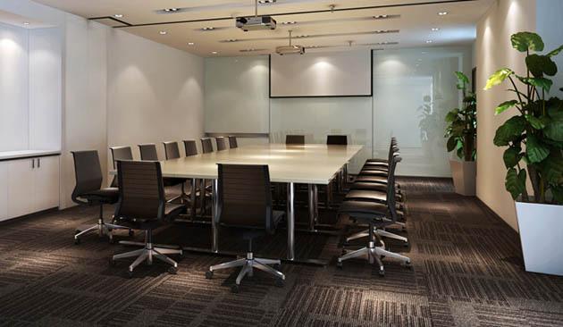 现代简约风格会议室装修设计