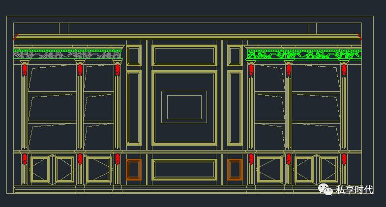 橱柜,衣柜,书柜CAD素材