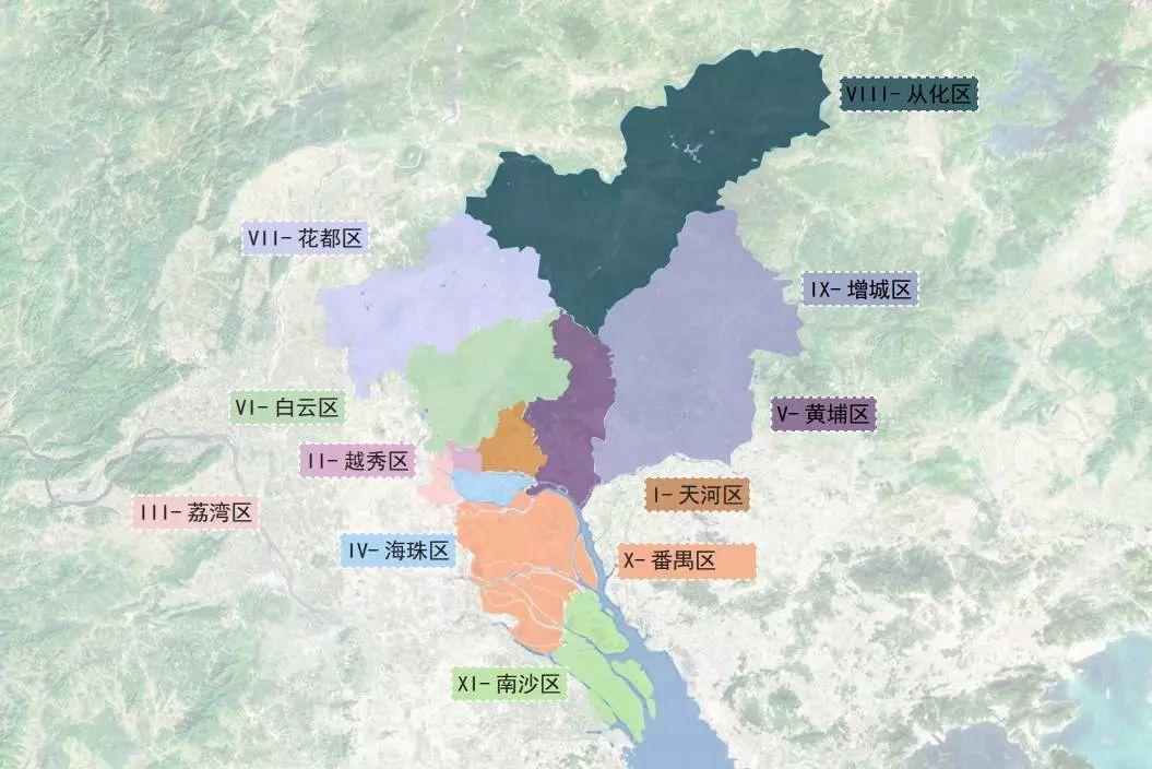 △广州设计地图 华南理工大学建筑学院