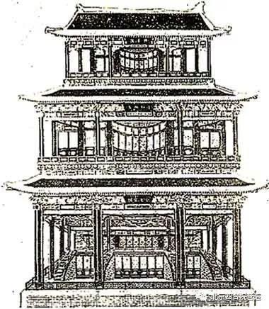 故宫速写手绘图