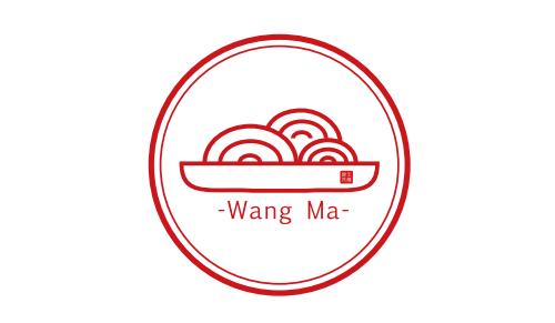 凉皮logo手绘