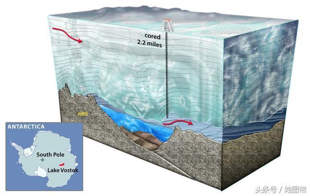 世界最冷的地方,脚下不是陆地,为何钻探快到底忽然停止?