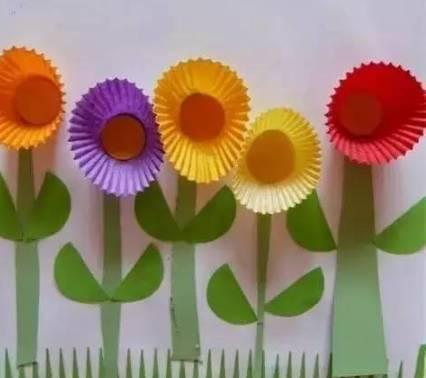 幼儿园卡纸创意手工制作大全,太美了!