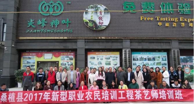 张家界新型职业农民培训茶艺师的茶艺培训班