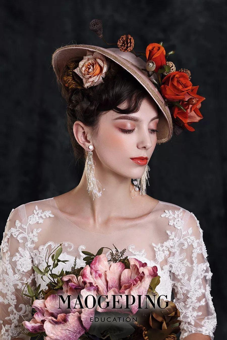 毛戈平形象设计艺术学校2017新娘彩妆造型大赛投票,谁图片