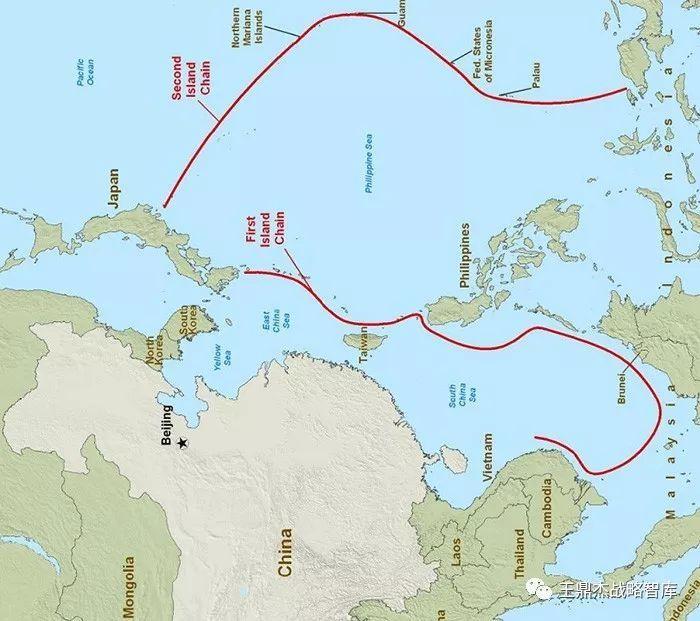 美国岛链战略的形成:不仅仅是要对付苏联