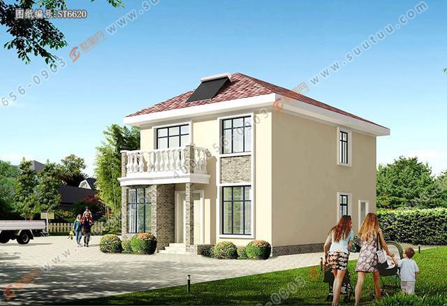 简约经济型乡村小别墅,主体造价仅18万