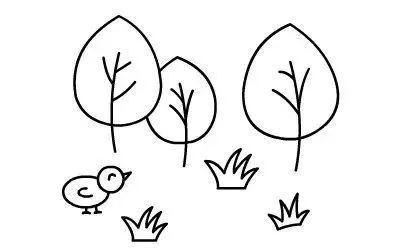 简单易学的简笔画教程,快教孩子们吧