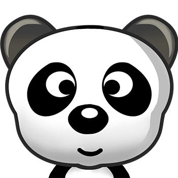 熊猫qq头原始头像
