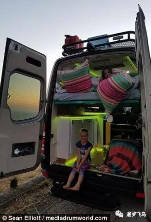 离婚爸爸改房车为童话小屋 全心经营女儿欢乐童年