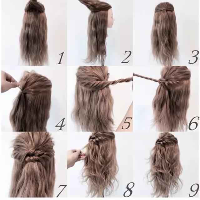 短发,马尾,丸子头,鱼骨辫,侧编发各种惹眼发型,收好不