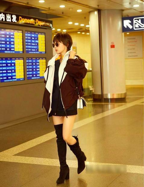 穿裙子裤子短到大腿根的女明星好多,网友 这次最想给林心如好评