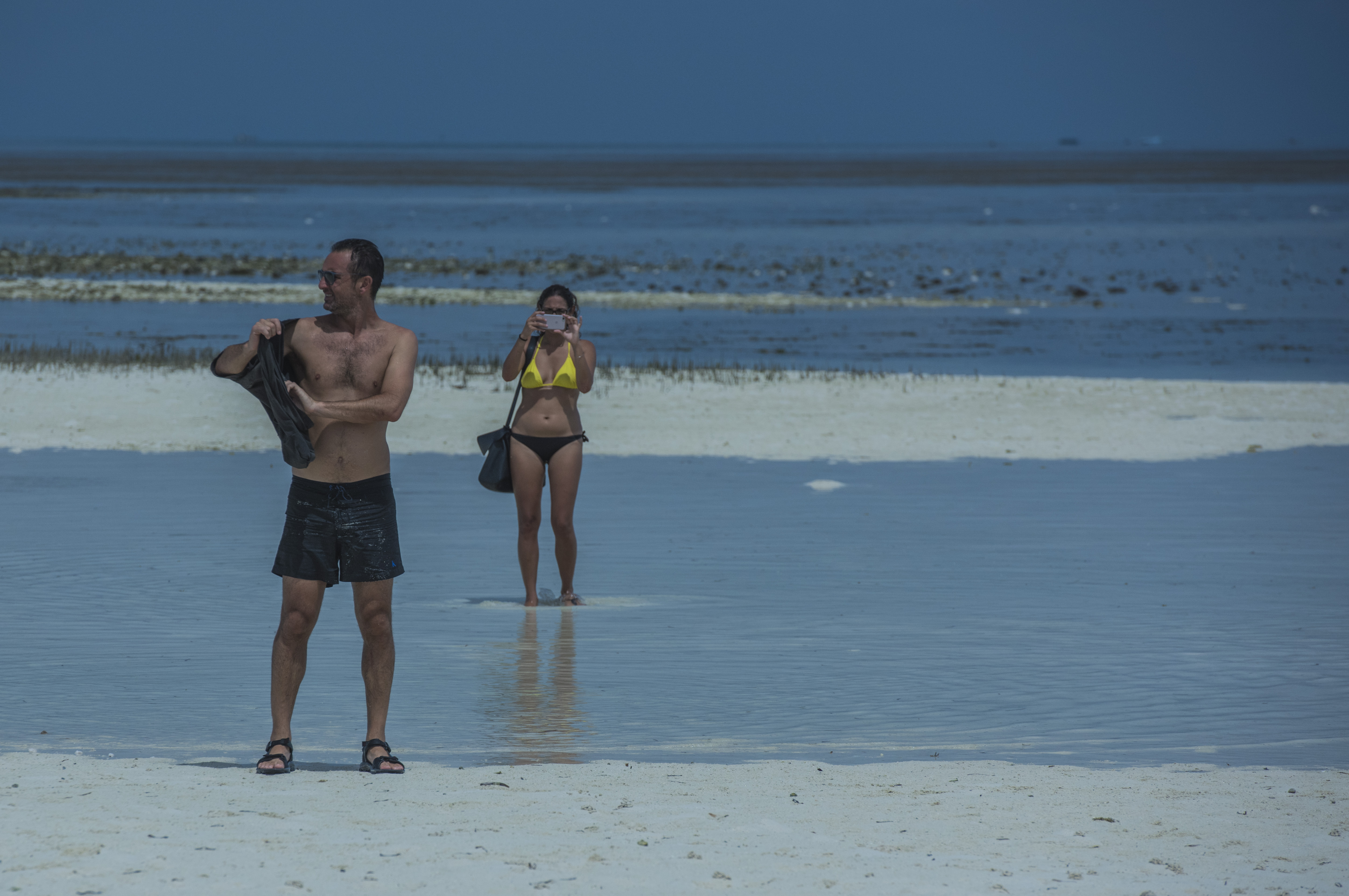 香艳!诱惑!这就是薄荷岛的沙滩