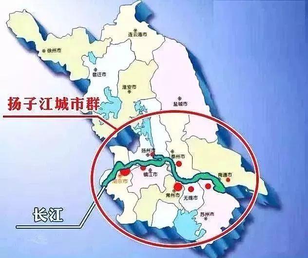 苏北gdp_江苏GDP最差的5个城市,跟中部各省GDP最强的5个城市,谁更强(3)