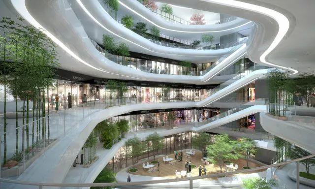 双中庭环廊设计