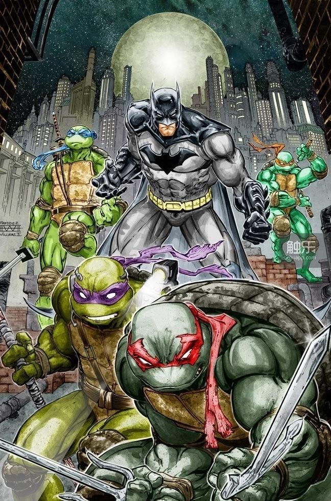 蝙蝠侠vs忍者神龟