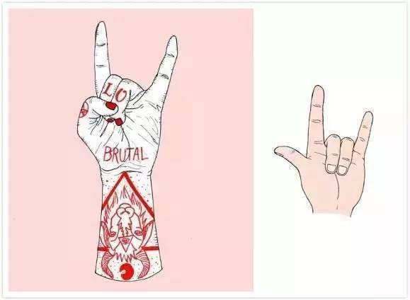 hiphop最基本的手势,你必须要懂!