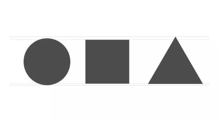 版式设计和字体设计中的人眼视错觉图片