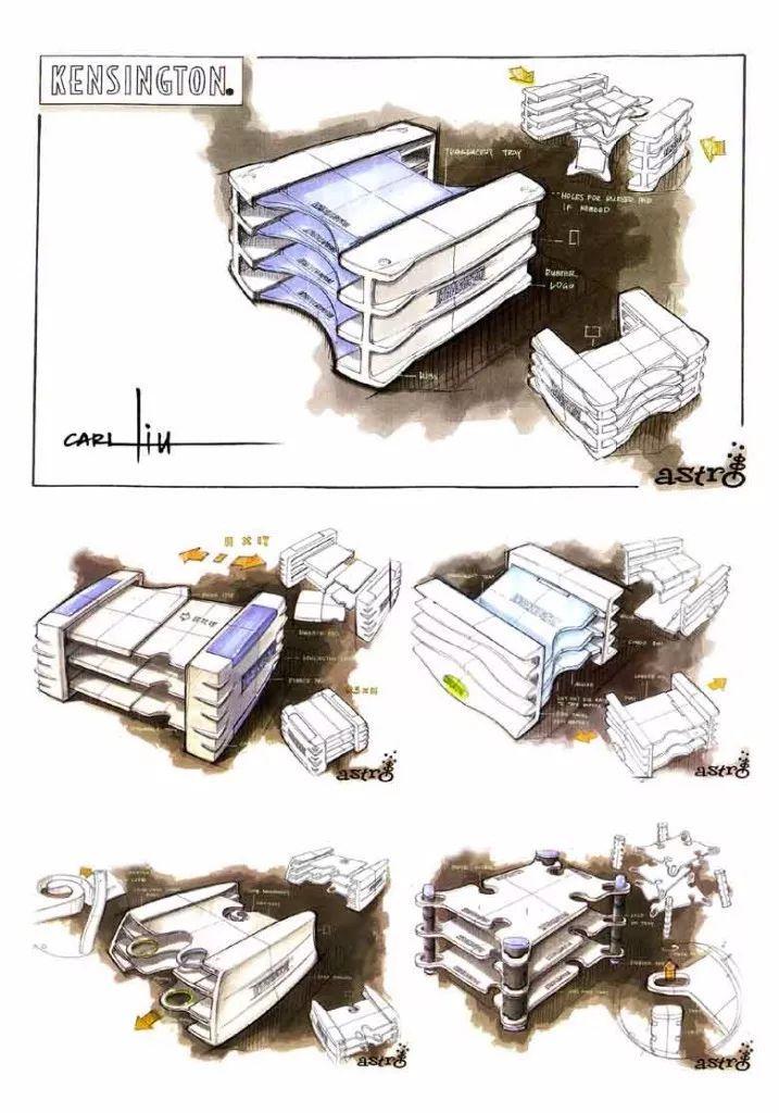 【大师】卡尔刘,刘传凯手绘作品集