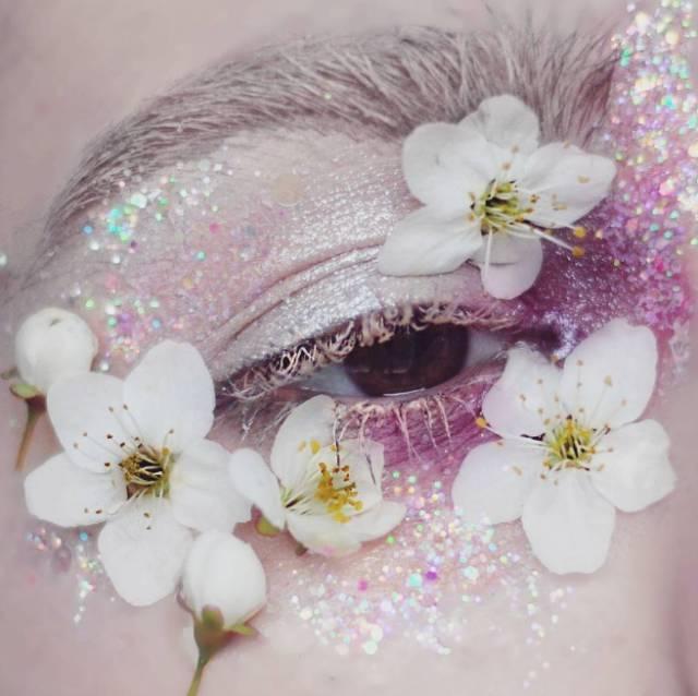 仙Fly | 超惊艳的创意花仙子眼妆,美到挪不开