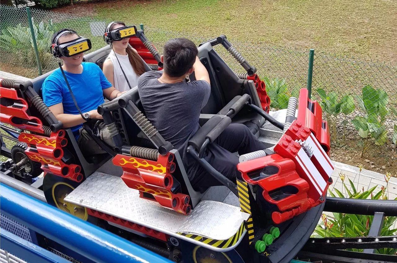 乐高VR过山车测试版状况频发     马来西亚乐高乐园自有对策