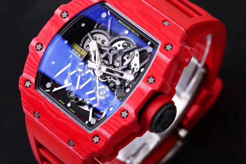 理查德米勒RM35-02 罗志祥与潘玮柏拥有最贵的一款手表 常州哪里高价回收理查德米勒