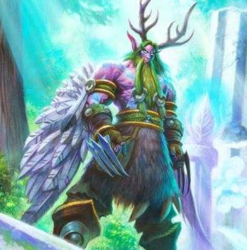 玛法里奥·怒风 作为魔兽世界德鲁伊的老大,玛法里奥怒风实力一定不