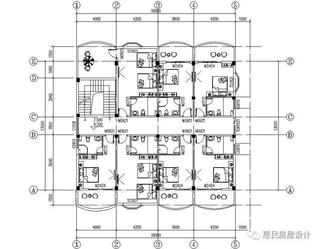 这套方案是专门为想要自建民宿,或者旅馆等出租房而设计的.图片