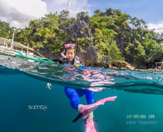 在菲律宾就是,跳,跳,跳岛