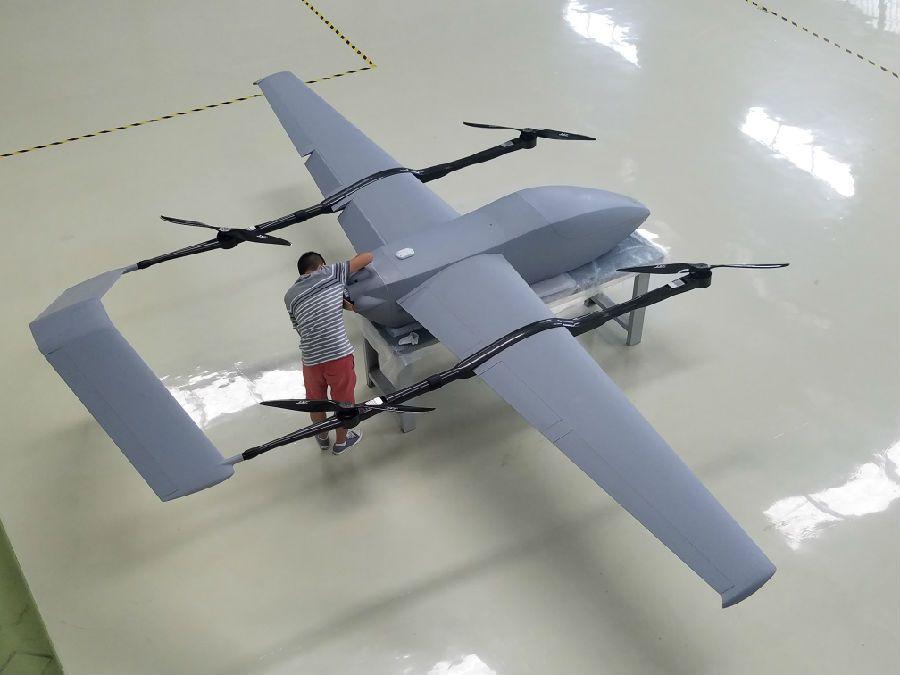 載荷最大可達40公斤,打破了美國在混合布局無人機領域保持的100公斤最圖片