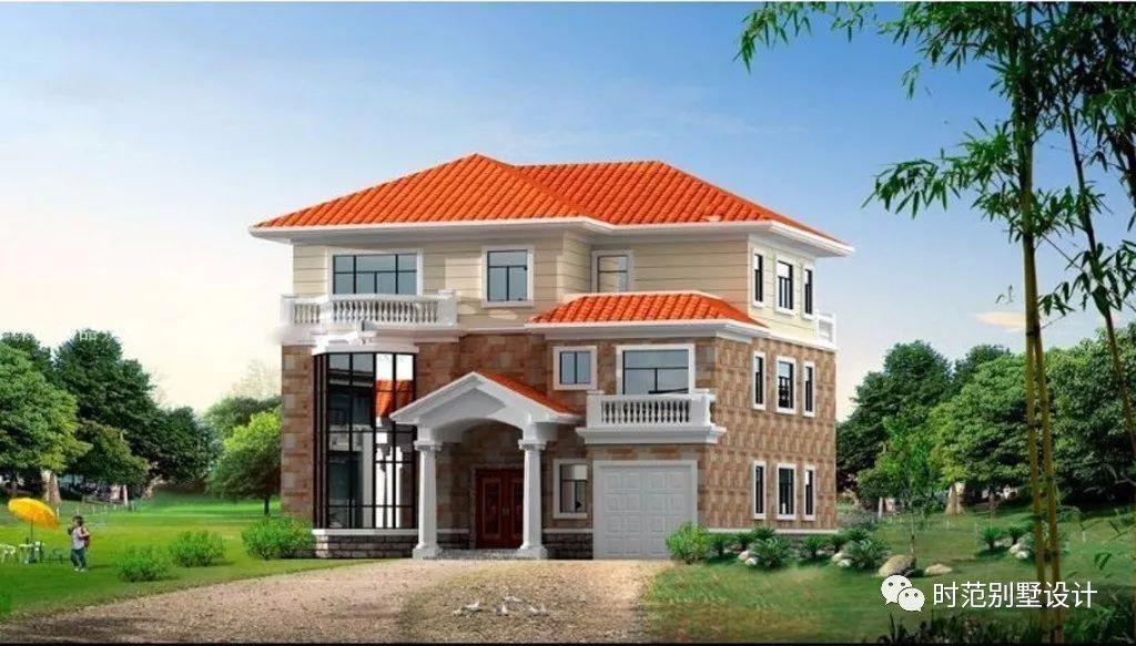 最新三层别墅设计图纸农村案例二