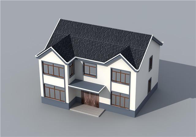 最新五间楼房设计图
