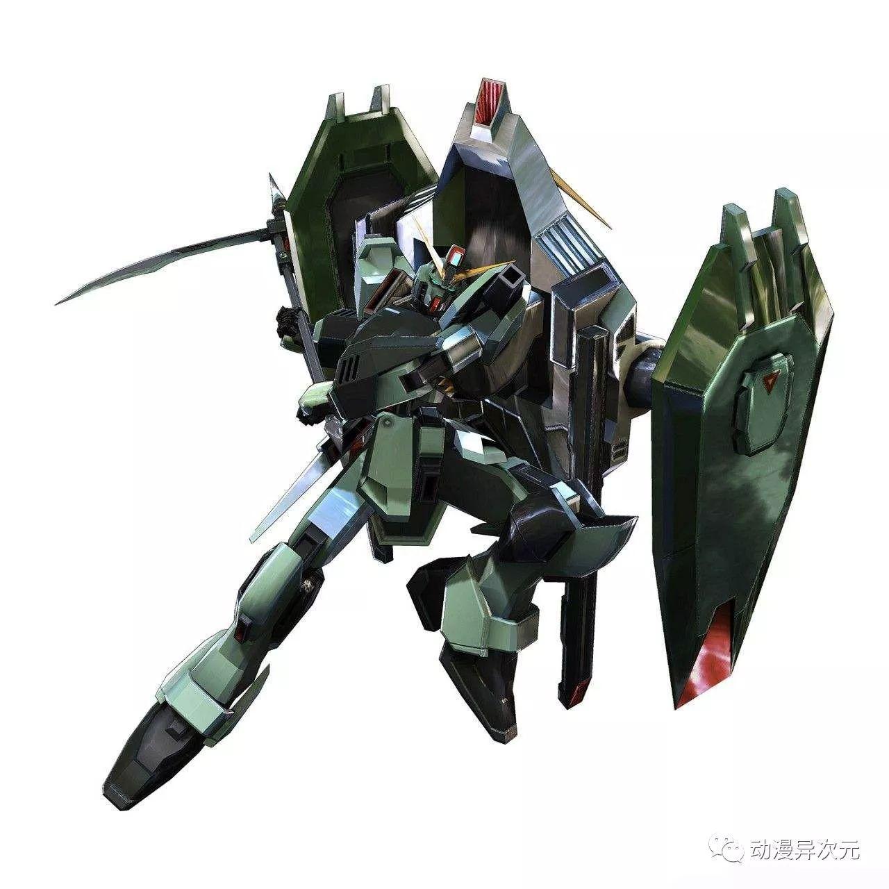 所以,灾难高达完全舍弃了近距离格斗战装备,仅能用盾牌应付常规武器