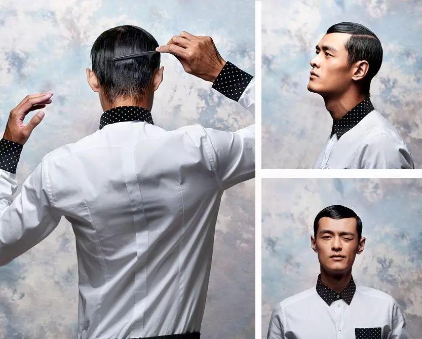 后脑勺的头发怎么剪图片