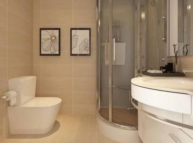 弧形淋浴门干湿分离