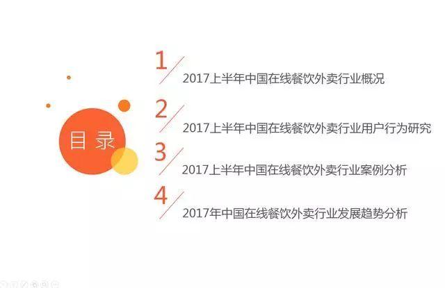 大数据:2017上半年中国在线餐饮外卖行业研究报告
