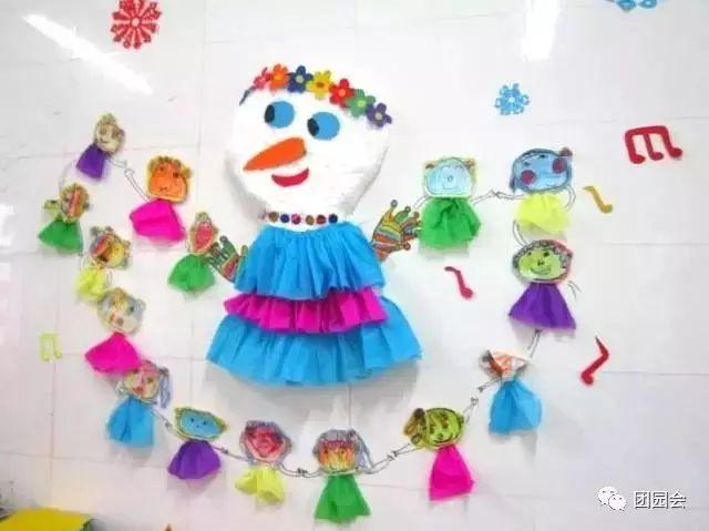 幼儿冬天创意手工制作