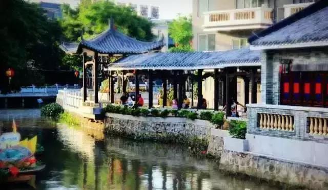 在中国也能找到浪漫的水乡啦,就在广东还特近