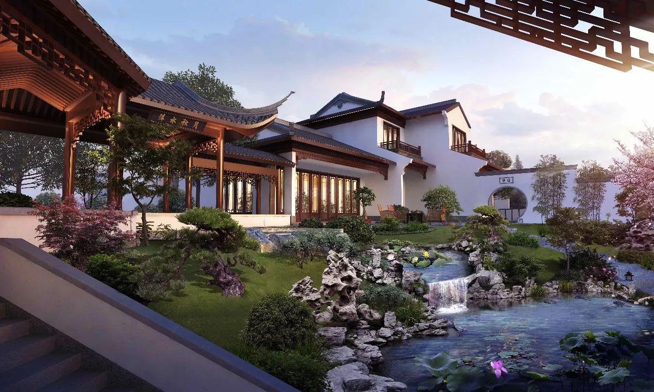 江南庭院别墅设计图