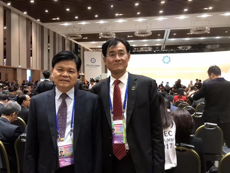 康力电梯董事长王友林应邀出席2017APEC峰会