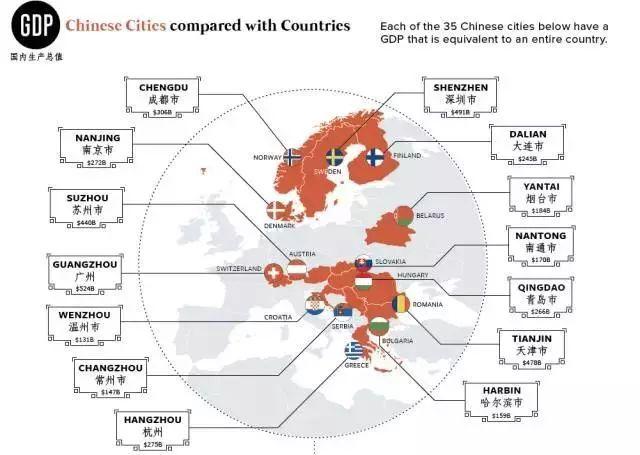苏州GDP能抵江西一个省吗_一张图告诉你 与中国各省GDP相当的国家