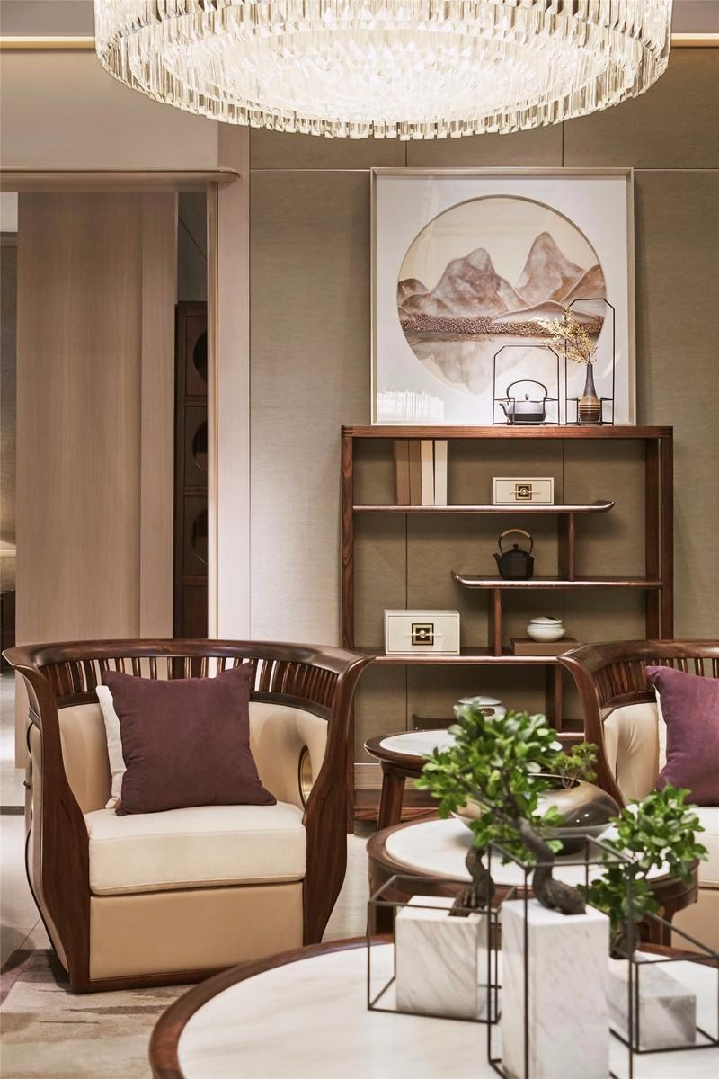 290㎡叠加别墅设计,新中式风格,匠心情怀下的意式轻奢