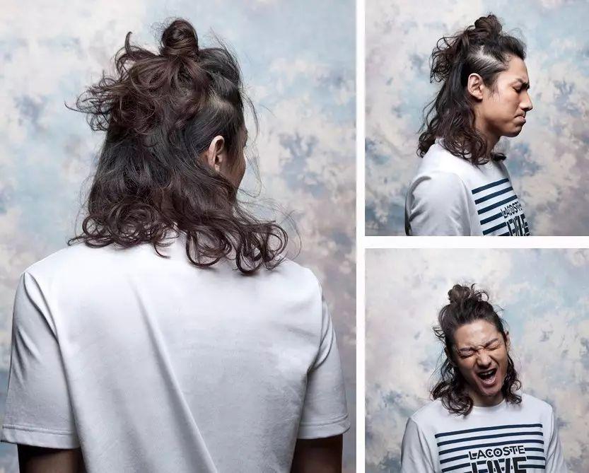 后脑勺的头发为什么粗图片