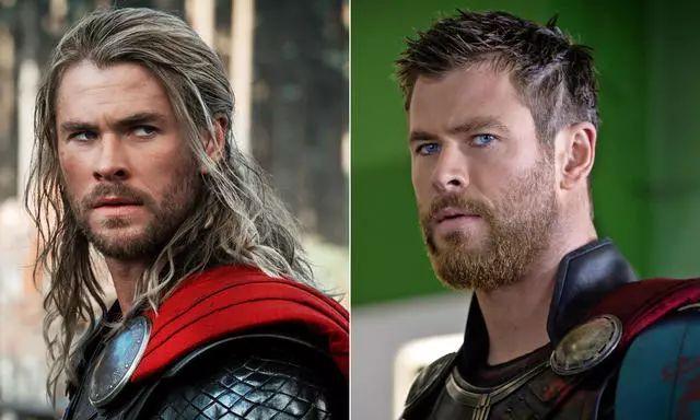 大家就发现索尔变得相当不一样,除了雷神之锤被双刀取代,发型也焕然一图片